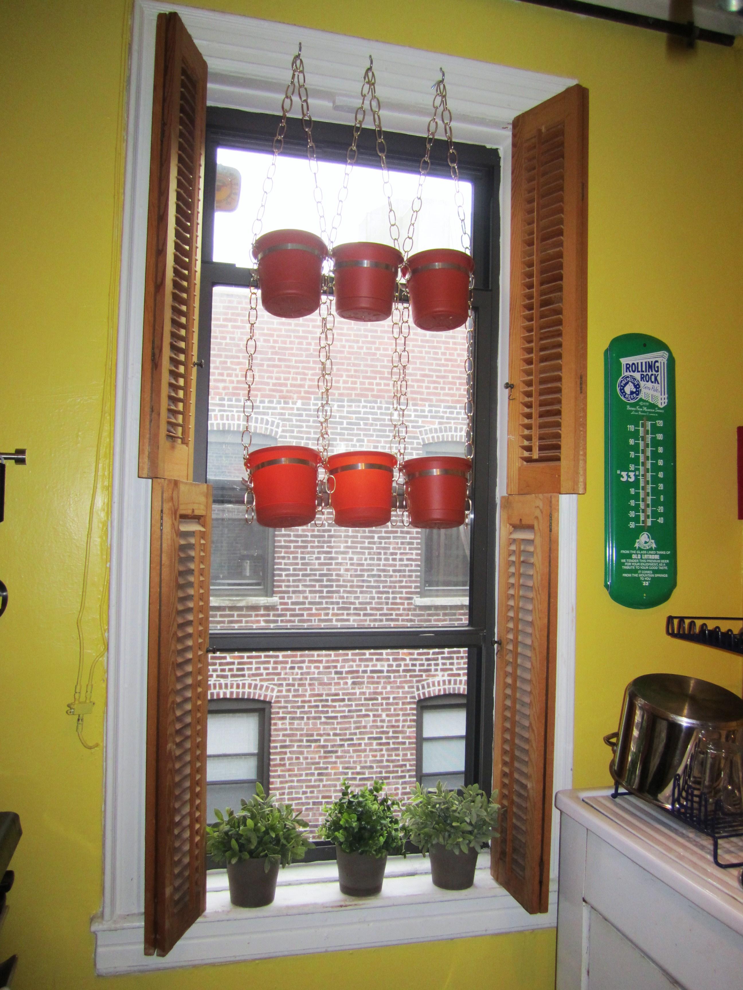 Hanging Window Herb Garden Part - 25: Hanging Window Herb Garden
