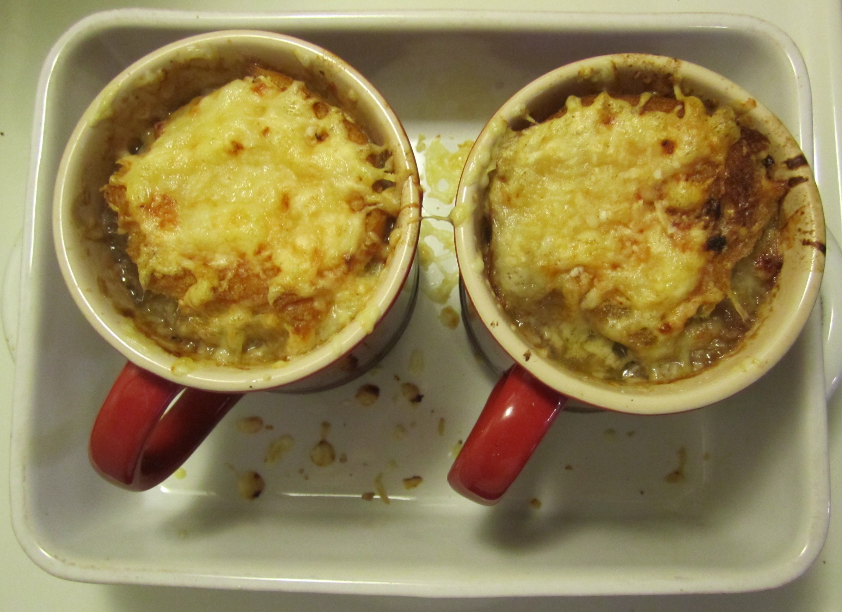 French Onion Soup « I'd rather be in France.