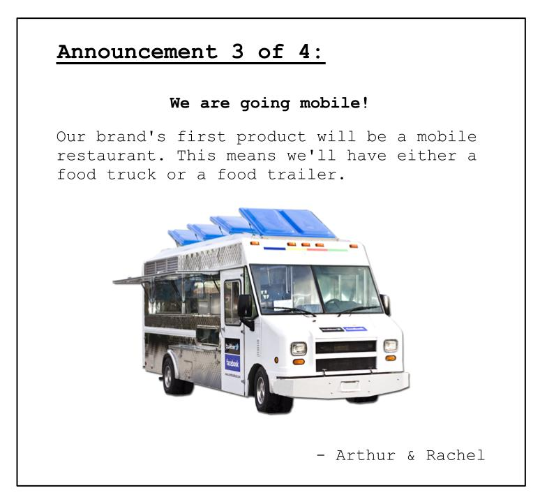 Announcement 3