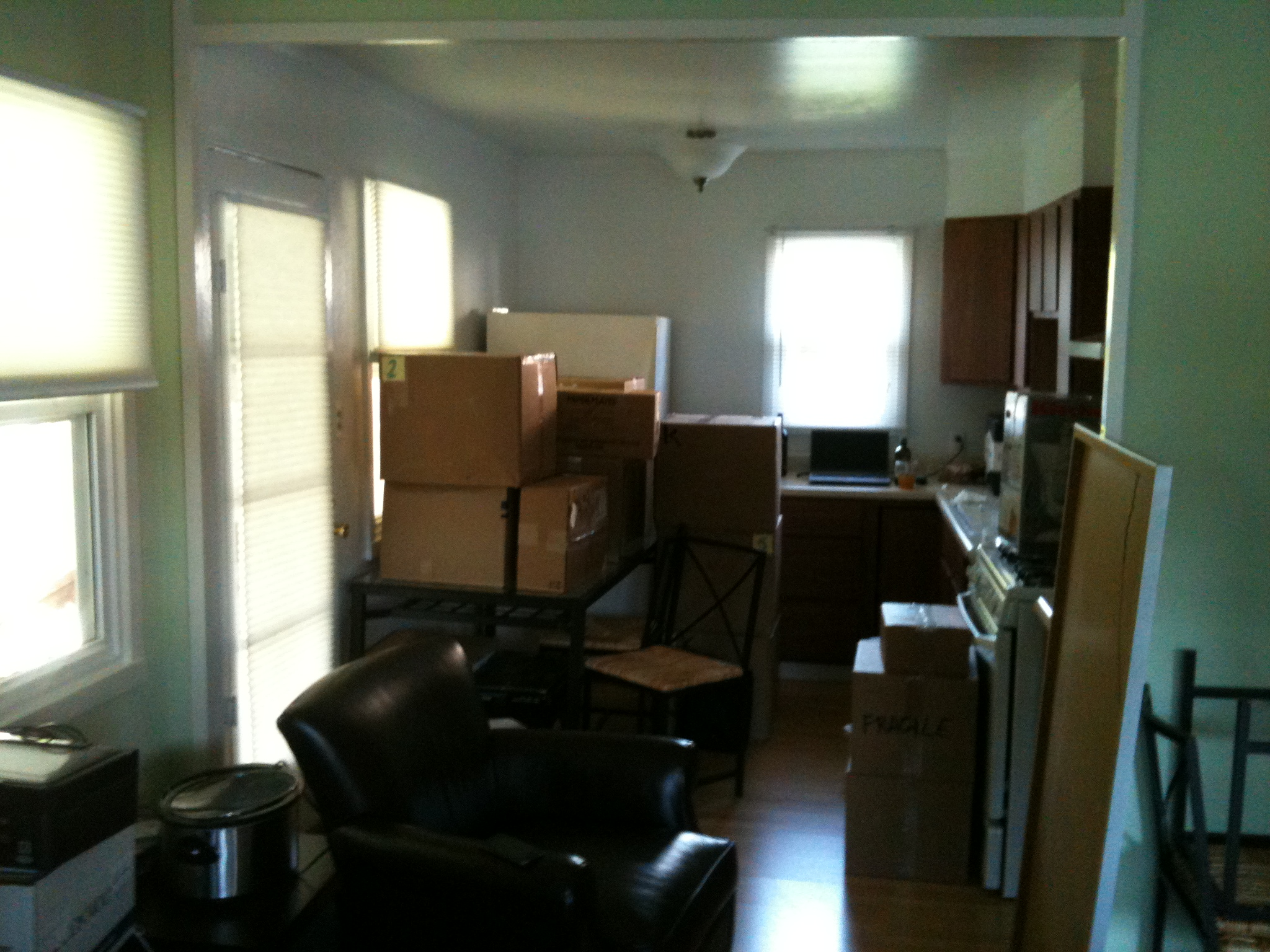 Unpacking :-(